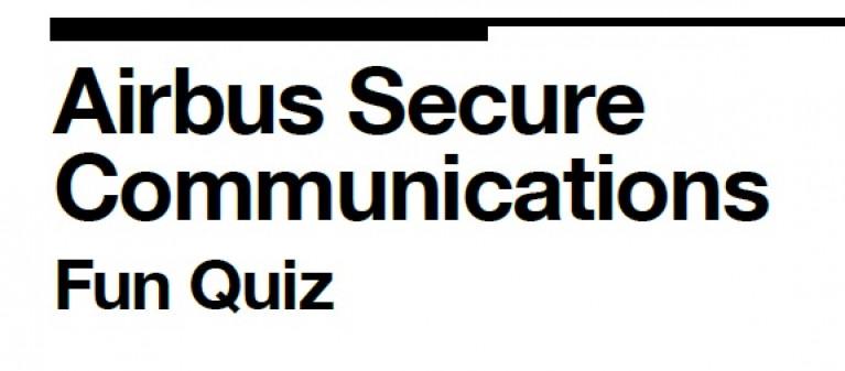 Download Airbus Secure Communications fun quiz