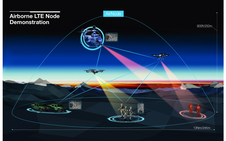 Airbus experiments its AirNode LTE capability with French Air Force