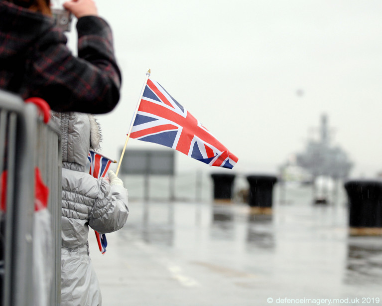 Uplift to welfare WiFi for UK Royal Navy